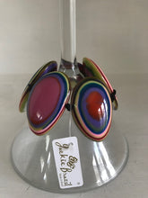 Load image into Gallery viewer, Jackie Brazil Multi Colored Oval Stretch Bracelet