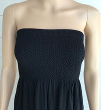 Load image into Gallery viewer, M. Rena Black Mini Tube Top Dress