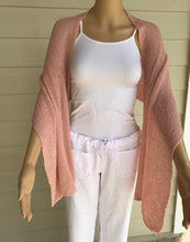 Load image into Gallery viewer, Blush Colored Knit Scarf by Lost River