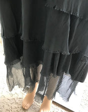 Load image into Gallery viewer, Charcoal Silk Dress by Look Mode
