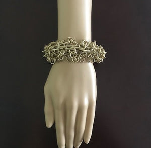 In The Loop Gold Bracelet by Traci Lynn