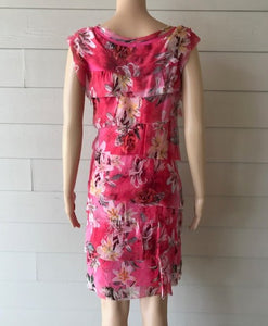 Floral Fuchsia Dress