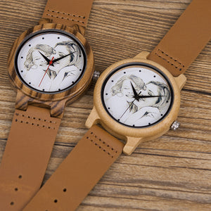 Personalized Wooden Photo Watch Unisex