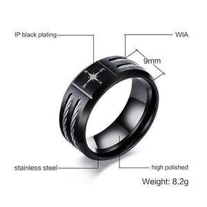 Personalized Men Stainless Steel Ring