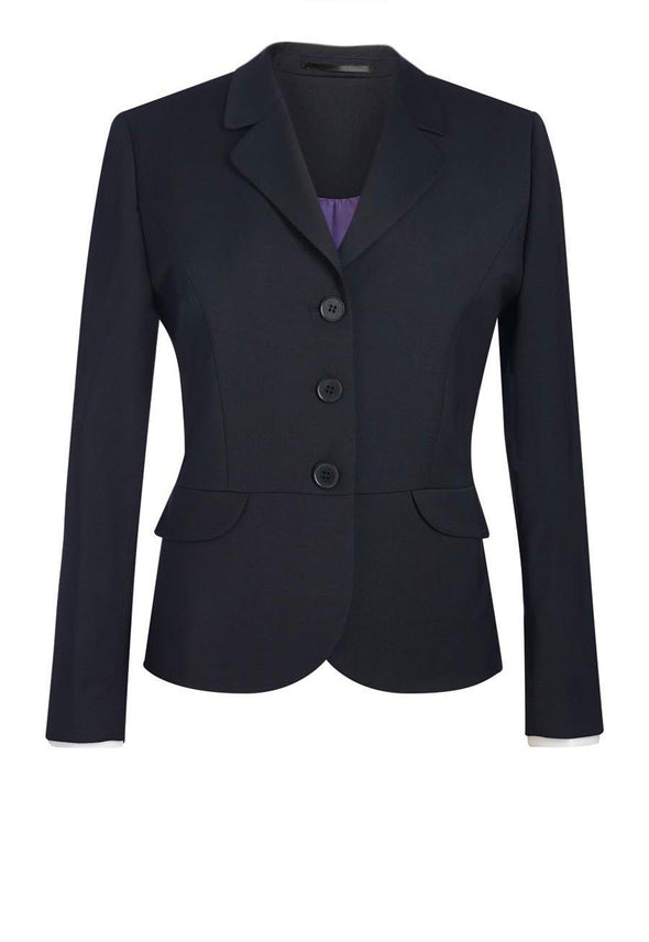 2179 - Susa Tailored Fit Jacket Ladies Suit Jacket Brook Taverner Black 6 Short