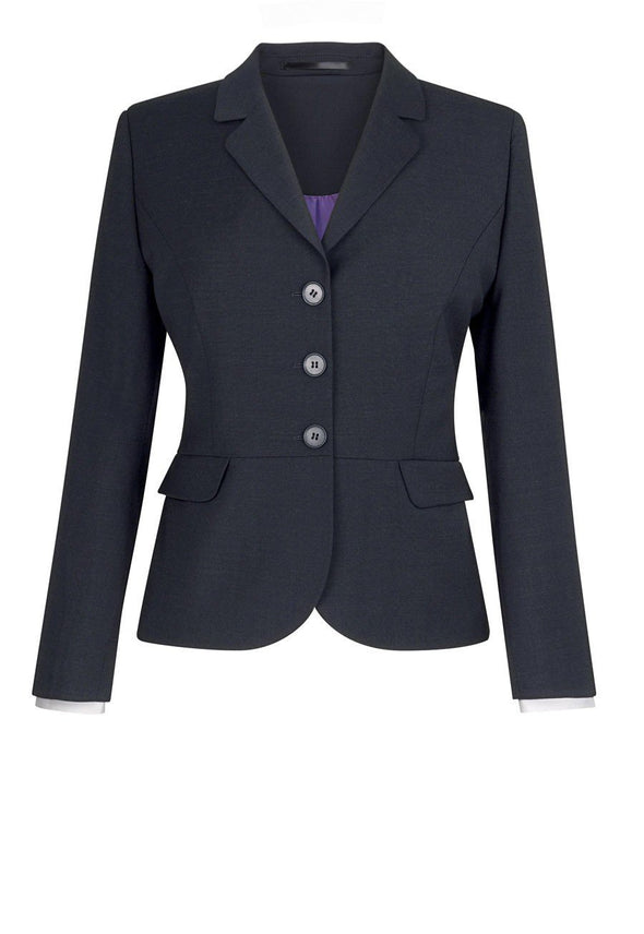 2179 - Susa Tailored Fit Jacket Ladies Suit Jacket Brook Taverner Charcoal 6 Short