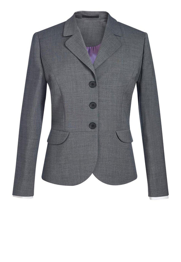 2179 - Susa Tailored Fit Jacket Ladies Suit Jacket Brook Taverner Light Grey 6 Short