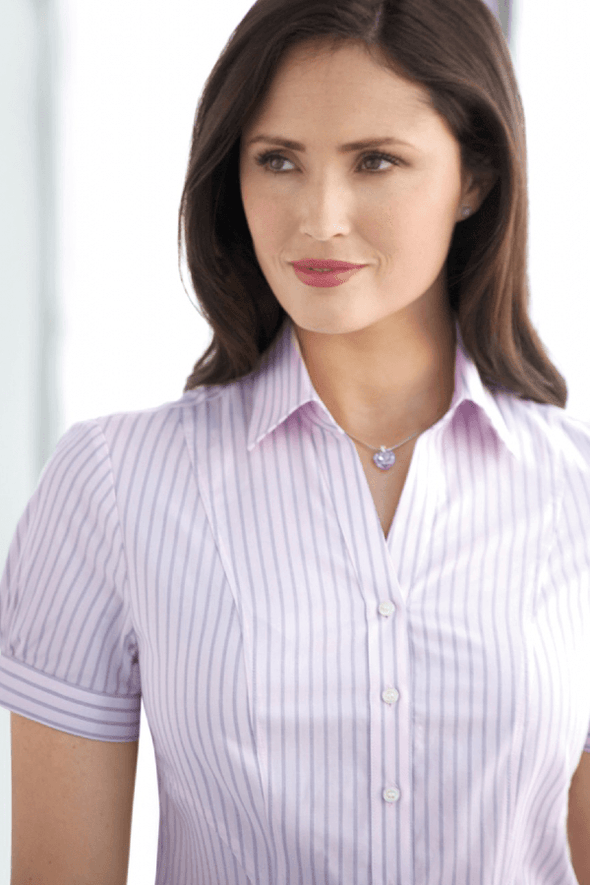 2217 - Pescara Shirt Womens Short Sleeve Shirts Brook Taverner
