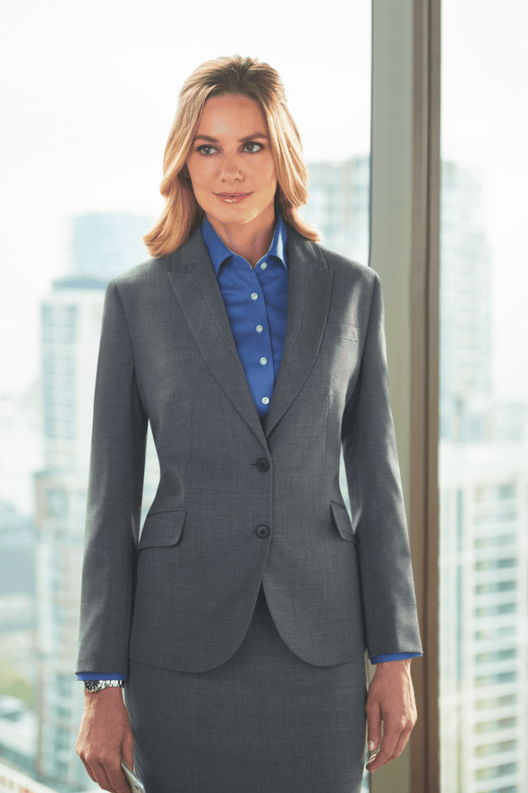 2222 - Novara Tailored Fit Jacket Ladies Suit Jacket Brook Taverner