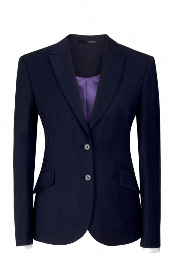 2222 - Novara Tailored Fit Jacket Ladies Suit Jacket Brook Taverner Navy 6 Regular