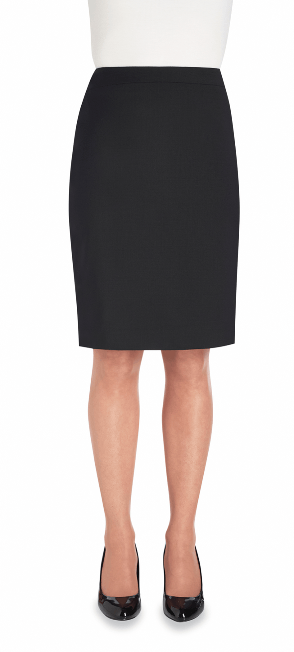 2224 - Numana Straight Skirt Skirts Brook Taverner Black 4 Regular