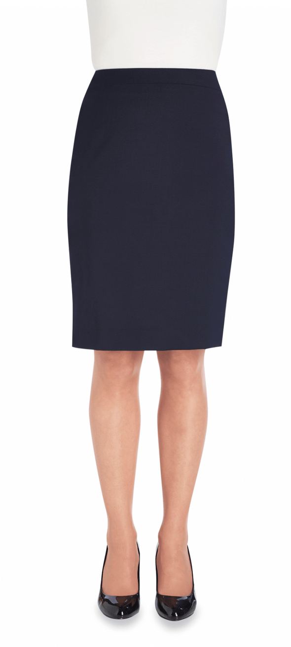 2224 - Numana Straight Skirt Skirts Brook Taverner Navy 4 Regular
