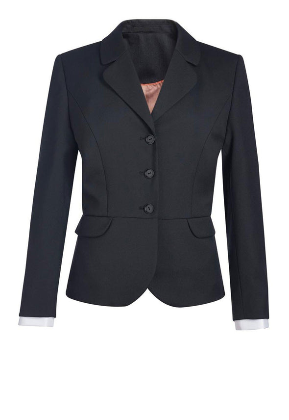 2228 - Mayfair Classic Fit Jacket Ladies Suit Jacket Brook Taverner Black 6 Short
