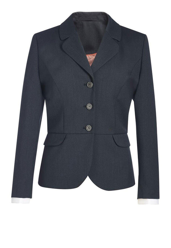 2228 - Mayfair Classic Fit Jacket Ladies Suit Jacket Brook Taverner Charcoal 6 Short