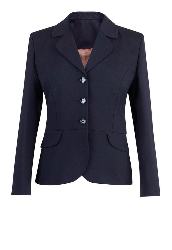 2228 - Mayfair Classic Fit Jacket Ladies Suit Jacket Brook Taverner Navy 6 Short
