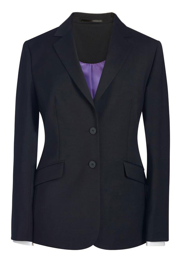 2250 - Opera Classic Fit Jacket Ladies Suit Jacket Brook Taverner Black 6 Short