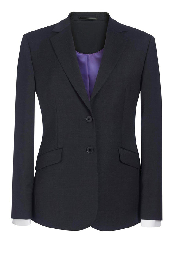 2250 - Opera Classic Fit Jacket Ladies Suit Jacket Brook Taverner Charcoal 6 Short