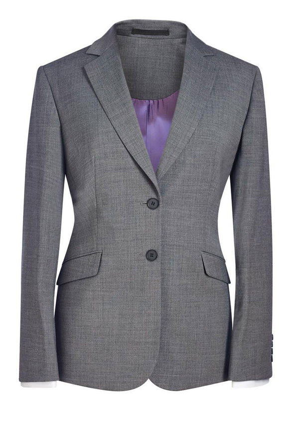 2250 - Opera Classic Fit Jacket (Short) Brook Taverner Light Grey 6 Short