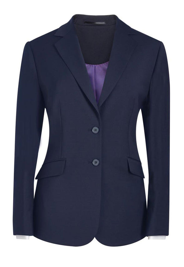 2250 - Opera Classic Fit Jacket (Short) Brook Taverner Navy 6 Short