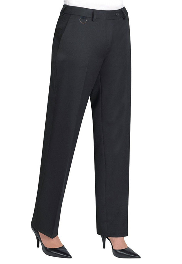 2256 - Venus Straight Leg Trouser Ladies Suit Trouser Brook Taverner Black 4 Regular