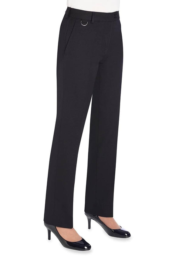 2256 - Venus Straight Leg Trouser Ladies Suit Trouser Brook Taverner Navy 4 Regular