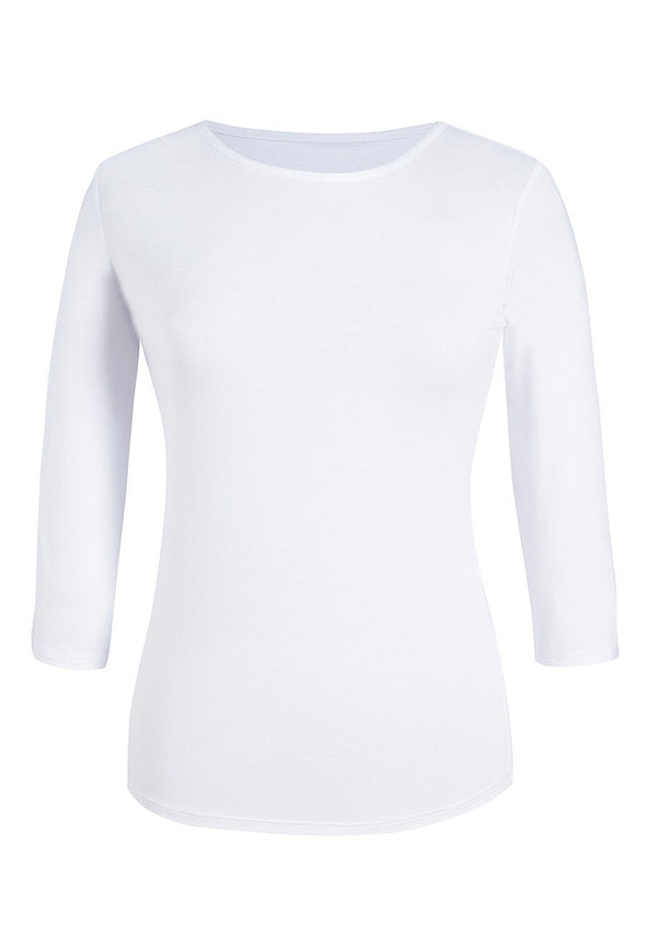 2266 - Mira Stretch Top Undersuit Top Brook Taverner White XS