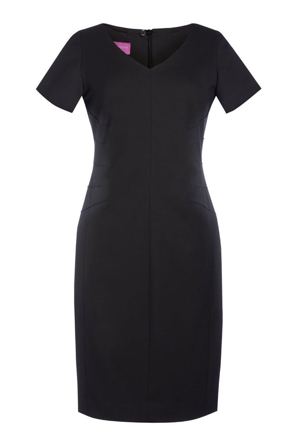 2274 - Portia Dress Dresses Brook Taverner Black 4 Regular