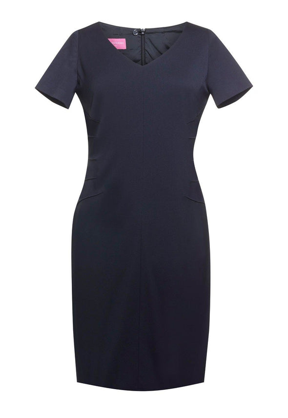 2274 - Portia Dress Dresses Brook Taverner Navy 4 Regular