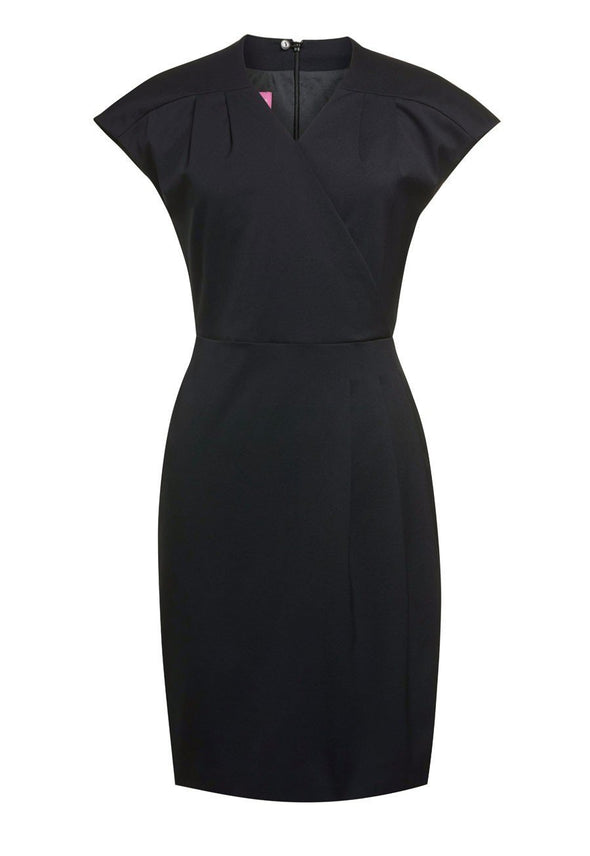 2285 - Cressida Dress Dresses Brook Taverner Black 6 Regular