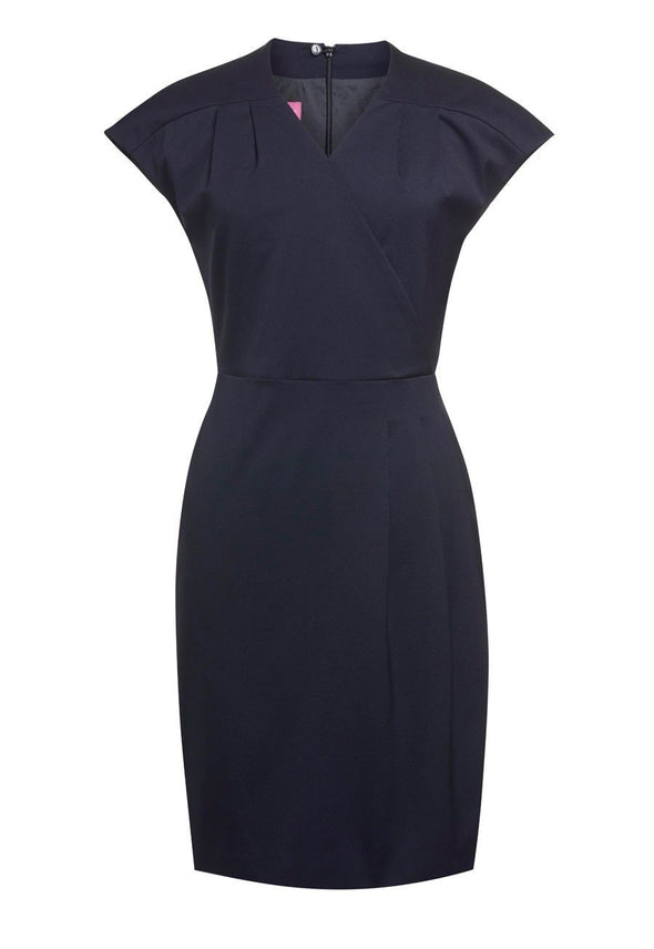 2285 - Cressida Dress Dresses Brook Taverner Navy 6 Regular