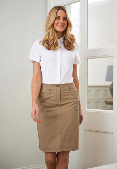 2302 - Austin Chino Skirt Skirts Brook Taverner