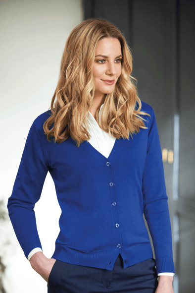 2309 - Augusta V-Neck Cardigan Womens Knitwear Brook Taverner