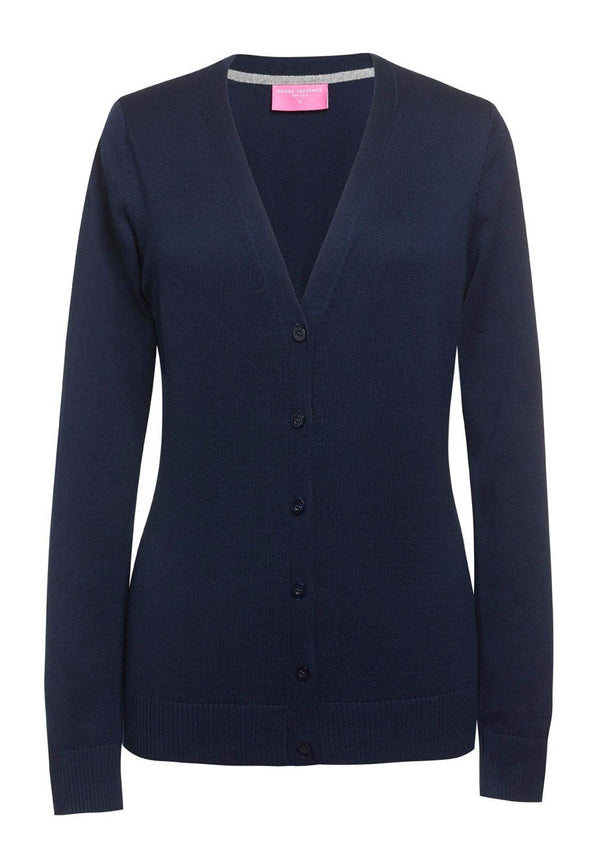 2309 - Augusta V-Neck Cardigan Womens Knitwear Brook Taverner Navy XS