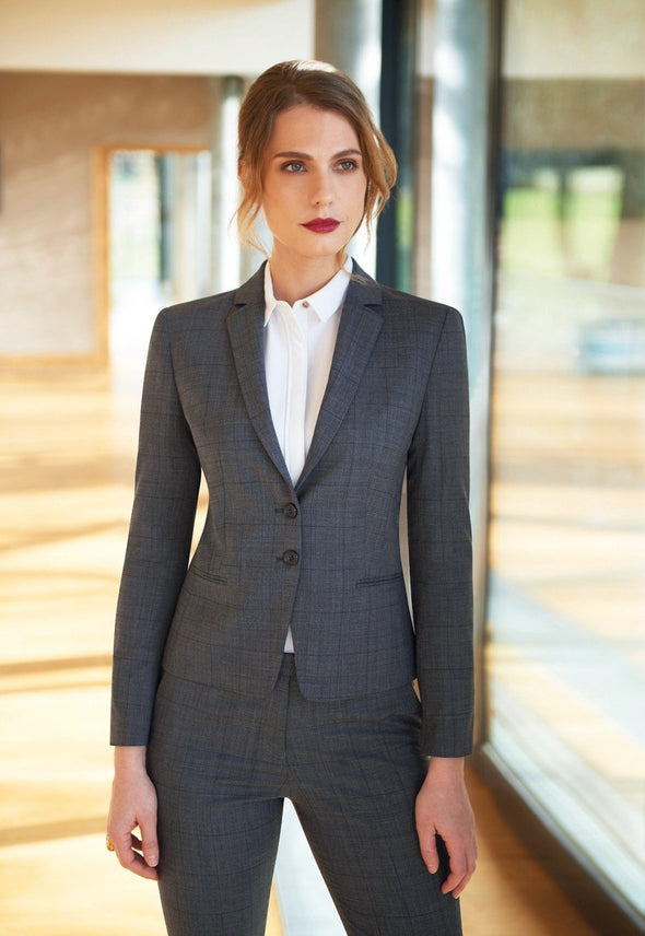 2331 - Calvi Signature Slim Fit Jacket Ladies Suit Jacket Brook Taverner