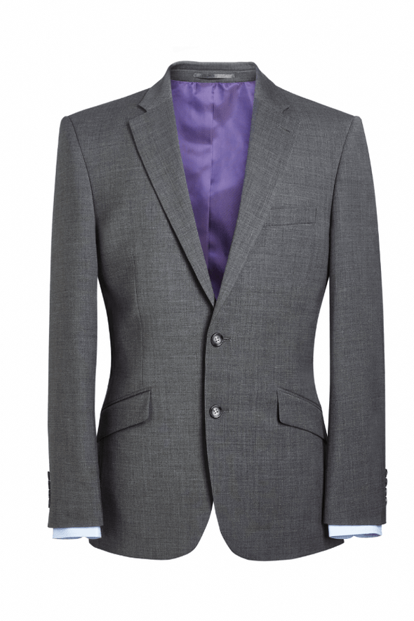 5647 - Avalino Tailored Fit Jacket Mens Suit Jacket Brook Taverner Light Grey 34 Regular