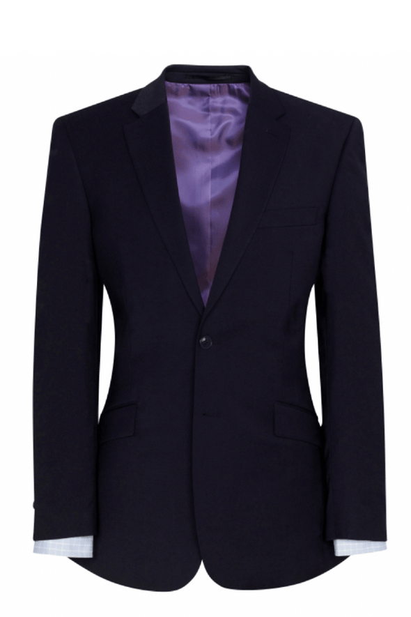 5647 - Avalino Tailored Fit Jacket Mens Suit Jacket Brook Taverner Navy 34 Regular