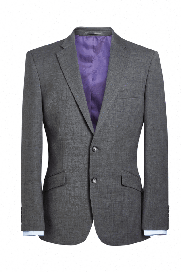 5647 - Avalino Tailored Fit Jacket (Short) Brook Taverner Light Grey 36 Short