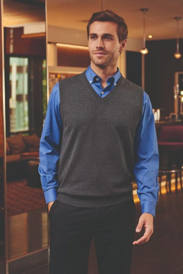 7819 - Detroit V-Neck Slipover Mens Knitwear Brook Taverner