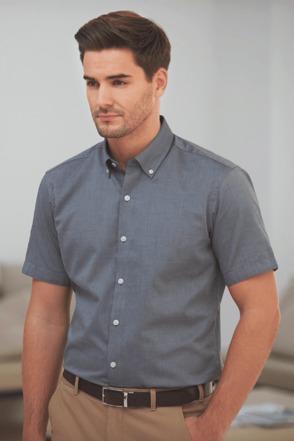 7883 - Calgary Shirt Mens Short Sleeve Shirts Brook Taverner