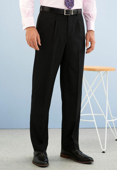 *8525 - Langham Single Pleat Trouser Mens Suit Trouser Brook Taverner