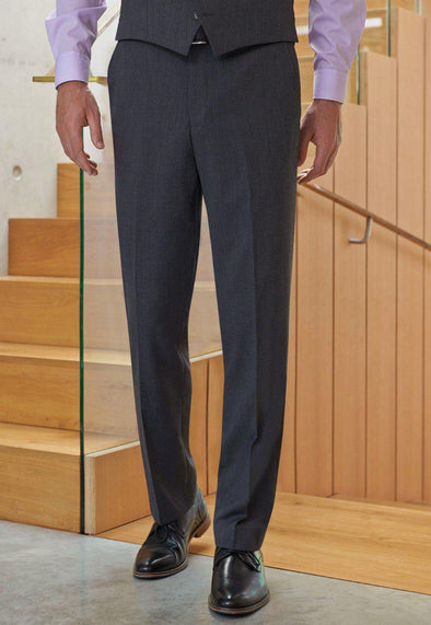 *8557 - Aldwych Tailored Fit Trouser Mens Suit Trouser Brook Taverner