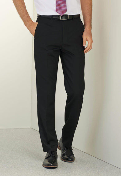 *8627 - Apollo Flat Front Trouser Mens Suit Trouser Brook Taverner