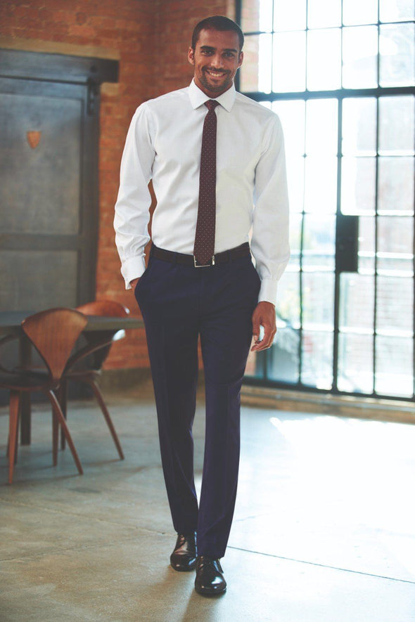 8655 - Cassino Slim Fit Trouser (Long) Brook Taverner