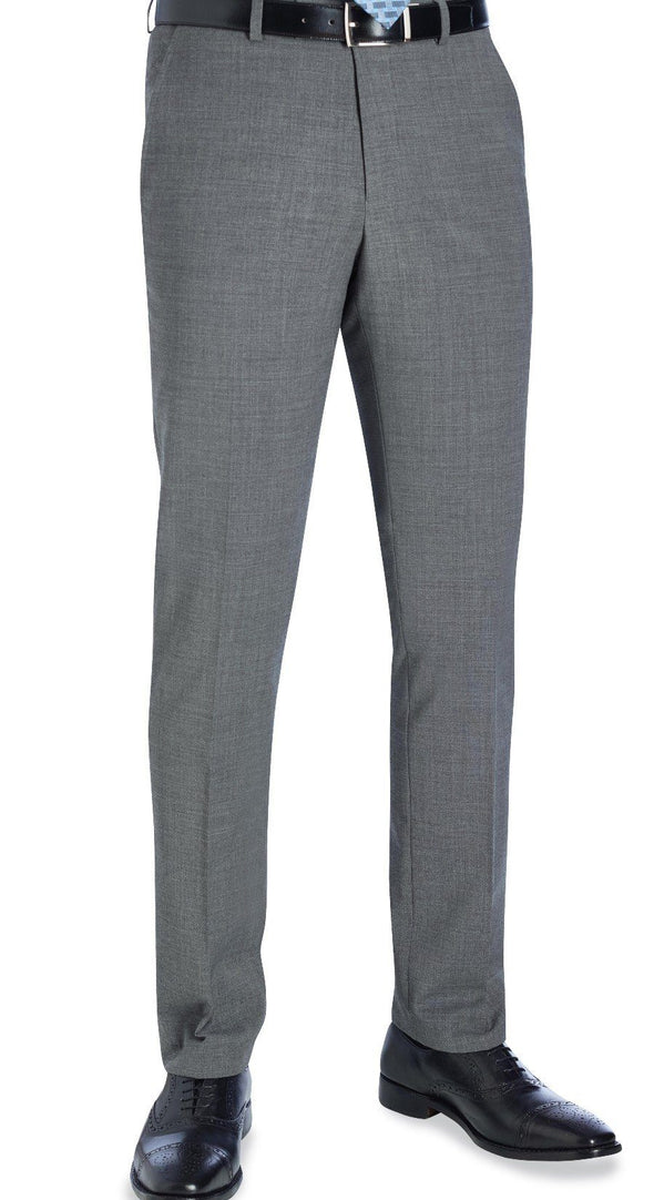8655 - Cassino Slim Fit Trouser (Long) Brook Taverner Light Grey 28 Long