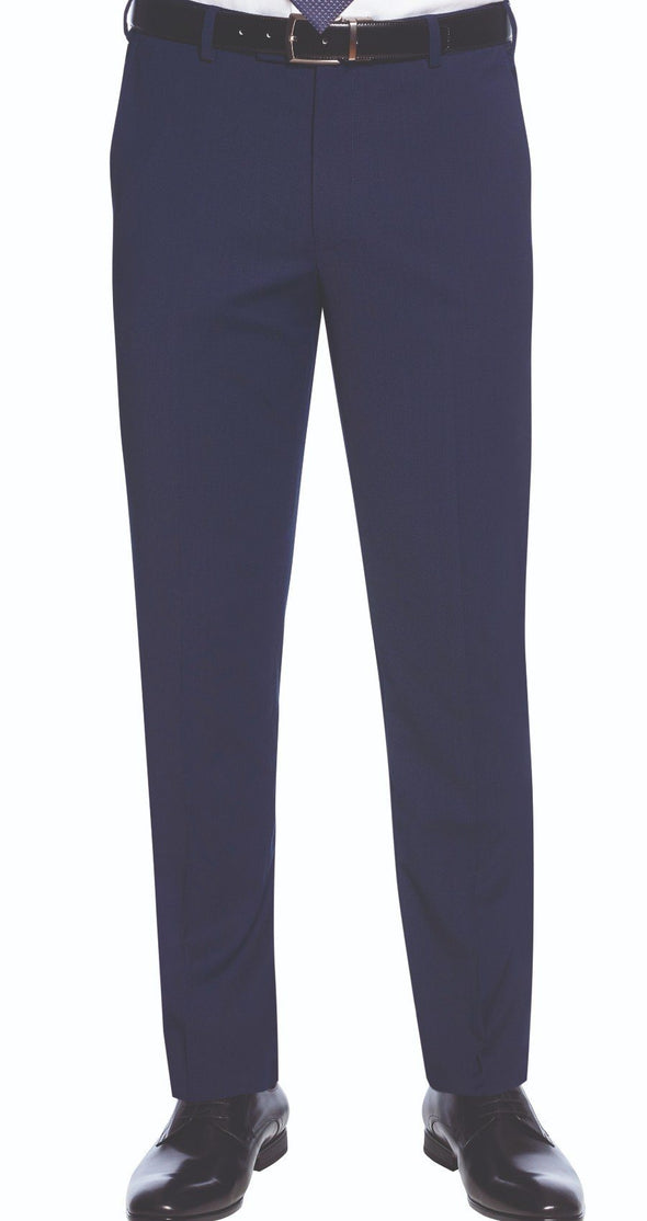 8655 - Cassino Slim Fit Trouser (Long) Brook Taverner Mid Blue 28 Long