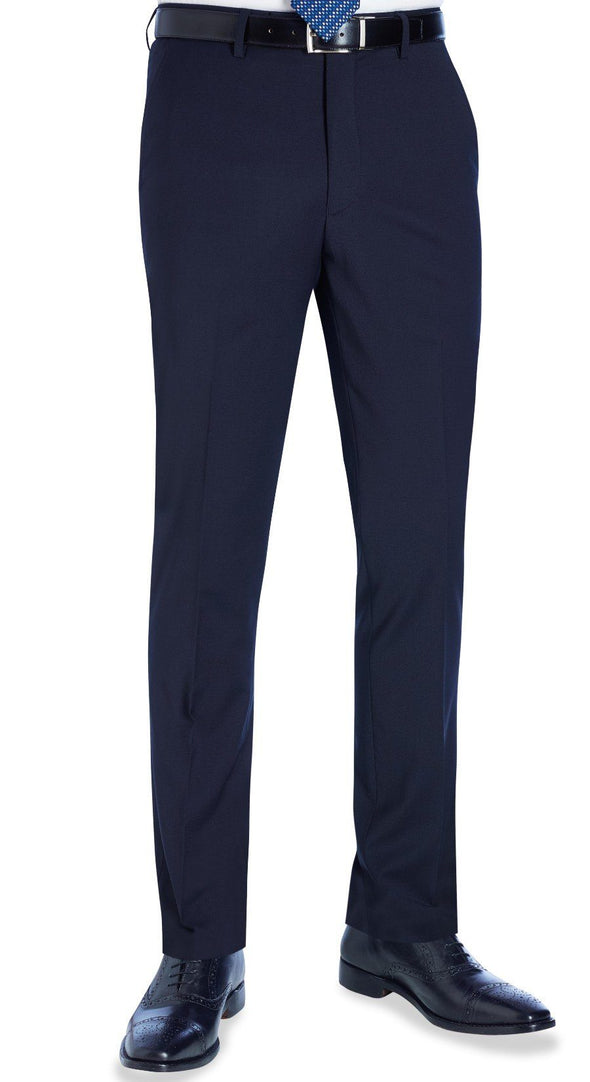 8655 - Cassino Slim Fit Trouser (Long) Brook Taverner Navy 28 Long