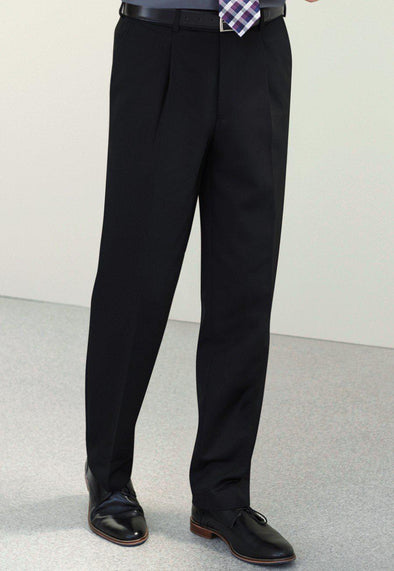 *8732 - Atlas 'Waistease' Trousers Mens Suit Trouser Brook Taverner