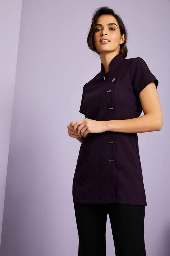 Asymmetrical Tunic Beauty Tunics Simon Jersey Plum 6
