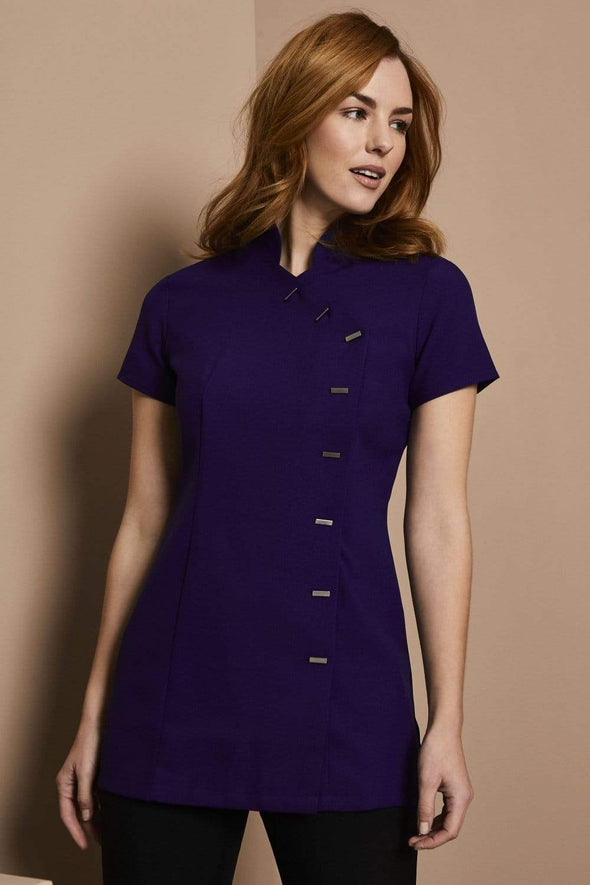 Asymmetrical Tunic Beauty Tunics Simon Jersey Royal Purple 6