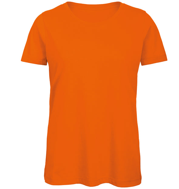 B118F - Womens Inspire T-Shirt Womens T-Shirts B&C Orange XS